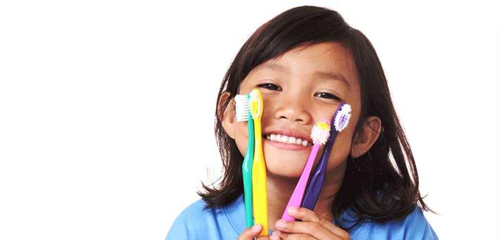 cepillado dientes niños