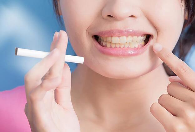 tabaco dientes