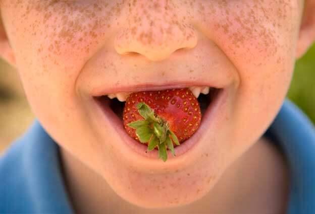 alimentos saludables para dientes