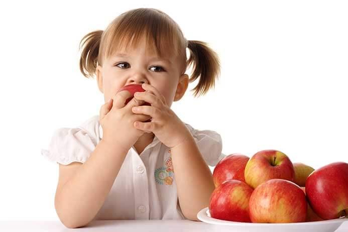meriendas sanas para los niños